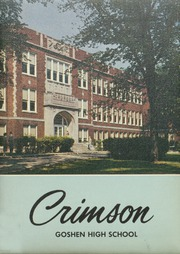 1959 Edition, Goshen High School - Crimson Yearbook (Goshen, IN)