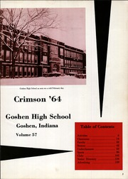 Page 5, 1964 Edition, Goshen High School - Crimson Yearbook (Goshen, IN) online yearbook collection