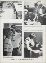 Page 13, 1974 Edition, Goshen High School - Crimson Yearbook (Goshen, IN) online yearbook collection