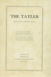 Page 5, 1923 Edition, Goode Barren Township High School - Tatler Yearbook (Sesser, IL) online yearbook collection