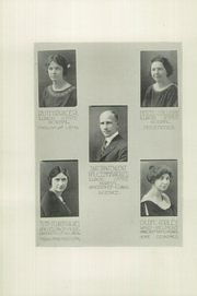 Page 12, 1923 Edition, Mansfield High School - Crimson Spotlight Yearbook (Mansfield, IL) online yearbook collection