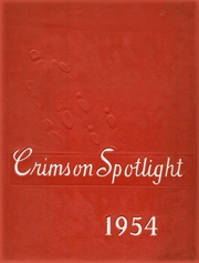 Page 1, 1954 Edition, Mansfield High School - Crimson Spotlight Yearbook (Mansfield, IL) online yearbook collection