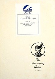 Page 7, 1940 Edition, Harvard Boys High School - Review Yearbook (Chicago, IL) online yearbook collection