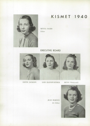Page 10, 1940 Edition, Faulkner School for Girls - Kismet Yearbook (Chicago, IL) online yearbook collection