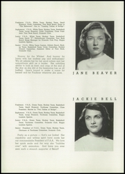 Page 16, 1948 Edition, Faulkner School for Girls - Kismet Yearbook (Chicago, IL) online yearbook collection