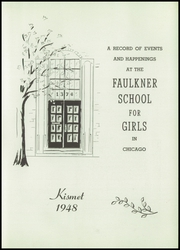 Page 7, 1948 Edition, Faulkner School for Girls - Kismet Yearbook (Chicago, IL) online yearbook collection