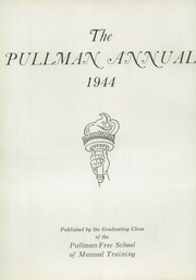 Page 6, 1944 Edition, Pullman Technical High School - Annual Yearbook (Chicago, IL) online yearbook collection