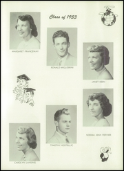 Page 15, 1953 Edition, Hopkins Township High School - Amulet Yearbook (Granville, IL) online yearbook collection