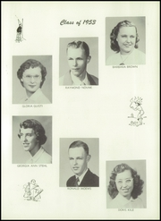 Page 17, 1953 Edition, Hopkins Township High School - Amulet Yearbook (Granville, IL) online yearbook collection