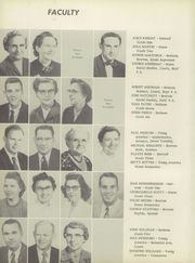 Page 10, 1956 Edition, Young America High School - Prairian Yearbook (Metcalf, IL) online yearbook collection