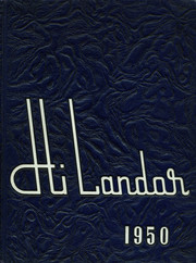 Page 1, 1950 Edition, Orland Park High School - Hi Lander Yearbook (Orland Park, IL) online yearbook collection