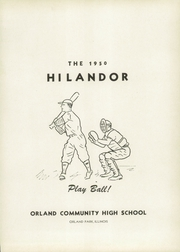Page 5, 1950 Edition, Orland Park High School - Hi Lander Yearbook (Orland Park, IL) online yearbook collection