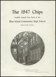 Page 5, 1947 Edition, Blue Island Community High School - Chips Yearbook (Blue Island, IL) online yearbook collection
