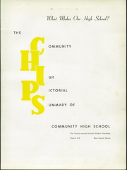 Page 5, 1957 Edition, Blue Island Community High School - Chips Yearbook (Blue Island, IL) online yearbook collection