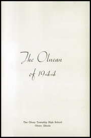 Page 5, 1944 Edition, Olney Area High School - Olnean Yearbook (Olney, IL) online yearbook collection