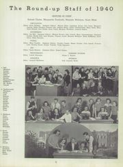 Page 11, 1940 Edition, Roosevelt High School - Roundup Yearbook (East Chicago, IN) online yearbook collection