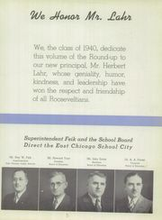 Page 9, 1940 Edition, Roosevelt High School - Roundup Yearbook (East Chicago, IN) online yearbook collection