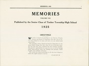 Page 5, 1925 Edition, Timber Township High School - Memories Yearbook (Glasford, IL) online yearbook collection