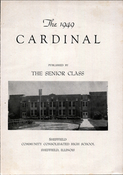 Page 3, 1949 Edition, Sheffield High School - Cardinal Yearbook (Sheffield, IL) online yearbook collection
