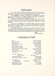 Page 10, 1951 Edition, Warrensburg High School - Cardinal Yearbook (Warrensburg, IL) online yearbook collection