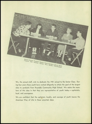 Page 11, 1951 Edition, Reynolds Community High School - Yearbook (Reynolds, IL) online yearbook collection