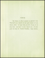 Page 11, 1951 Edition, Thebes High School - Thebian Yearbook (Thebes, IL) online yearbook collection
