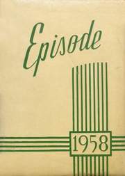 Page 1, 1958 Edition, Yorktown High School - Episode Yearbook (Yorktown, IN) online yearbook collection