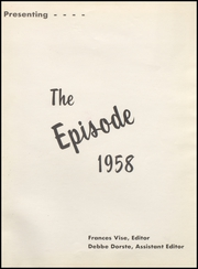 Page 5, 1958 Edition, Yorktown High School - Episode Yearbook (Yorktown, IN) online yearbook collection