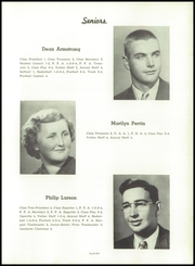Page 15, 1953 Edition, Little York High School - Eaglelite Yearbook (Little York, IL) online yearbook collection