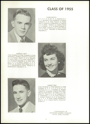 Page 10, 1955 Edition, Little York High School - Eaglelite Yearbook (Little York, IL) online yearbook collection