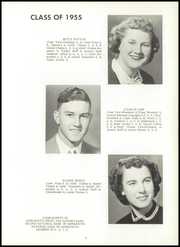 Page 13, 1955 Edition, Little York High School - Eaglelite Yearbook (Little York, IL) online yearbook collection