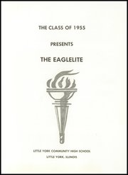 Page 5, 1955 Edition, Little York High School - Eaglelite Yearbook (Little York, IL) online yearbook collection