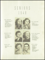 Page 17, 1948 Edition, Humboldt High School - Hummer Yearbook (Humboldt, IL) online yearbook collection