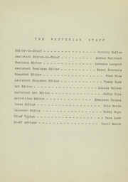 Page 13, 1945 Edition, Westervelt High School - Westerian Yearbook (Westervelt, IL) online yearbook collection