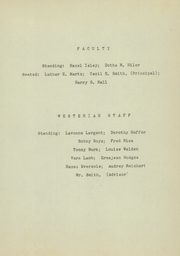 Page 9, 1945 Edition, Westervelt High School - Westerian Yearbook (Westervelt, IL) online yearbook collection
