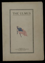 Page 1, 1918 Edition, Elmwood Community High School - Ulmus Yearbook (Elmwood, IL) online yearbook collection