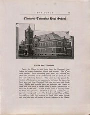 Page 11, 1918 Edition, Elmwood Community High School - Ulmus Yearbook (Elmwood, IL) online yearbook collection