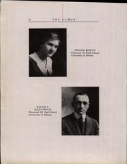 Page 16, 1918 Edition, Elmwood Community High School - Ulmus Yearbook (Elmwood, IL) online yearbook collection
