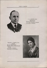 Page 11, 1922 Edition, Elmwood Community High School - Ulmus Yearbook (Elmwood, IL) online yearbook collection
