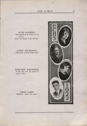 Page 17, 1922 Edition, Elmwood Community High School - Ulmus Yearbook (Elmwood, IL) online yearbook collection