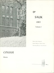 Page 7, 1963 Edition, Black Hawk College - Sauk Yearbook (Moline, IL) online yearbook collection