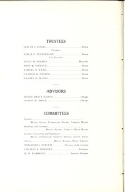 Page 16, 1912 Edition, Bradley University - Anaga Yearbook (Peoria, IL) online yearbook collection
