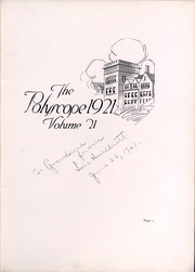 Page 4, 1921 Edition, Bradley University - Anaga Yearbook (Peoria, IL) online yearbook collection