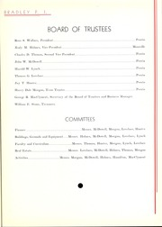 Page 13, 1936 Edition, Bradley University - Anaga Yearbook (Peoria, IL) online yearbook collection