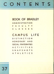 Page 10, 1937 Edition, Bradley University - Anaga Yearbook (Peoria, IL) online yearbook collection