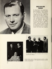 Page 16, 1953 Edition, Bradley University - Anaga Yearbook (Peoria, IL) online yearbook collection