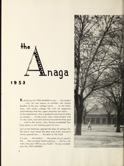 Page 6, 1953 Edition, Bradley University - Anaga Yearbook (Peoria, IL) online yearbook collection