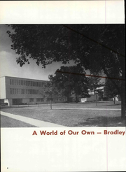 Page 10, 1959 Edition, Bradley University - Anaga Yearbook (Peoria, IL) online yearbook collection