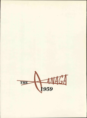 Page 7, 1959 Edition, Bradley University - Anaga Yearbook (Peoria, IL) online yearbook collection