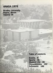 Page 5, 1978 Edition, Bradley University - Anaga Yearbook (Peoria, IL) online yearbook collection